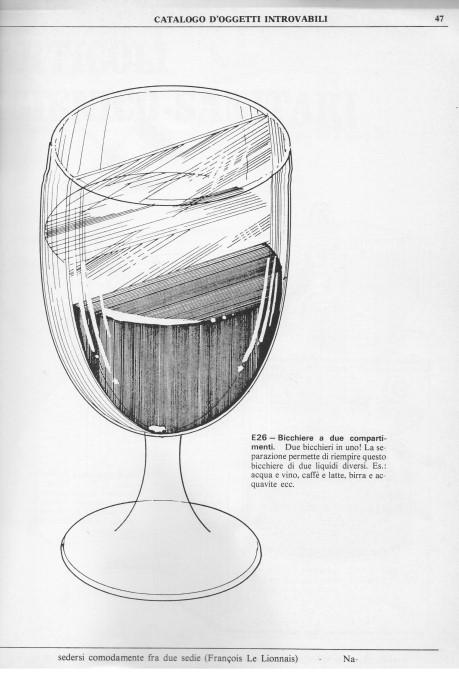 una dipensa in un bicchiere