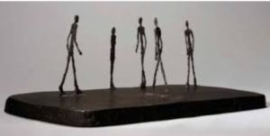 Giacometti scultura